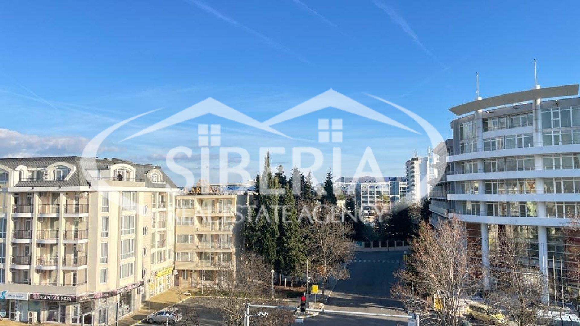 Тристаен апартамент в Созопол с изглед към морето